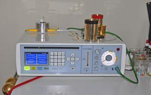 Den så kallade bioresonansapparaten som påstås bota allergier genom att utsätta patienterna för elektromagnetiska impulser.
