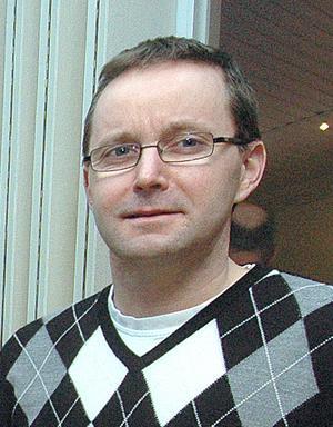 Jonas Geholm som är virkesområdeschef för Mellanskog i södra Hälsingland.
