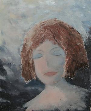 """""""Rebecka"""" kallas det här porträttet."""