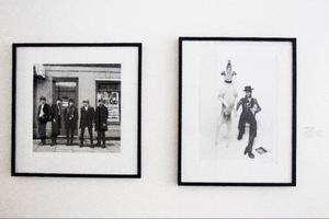 Terry O'Neill ställer ut foton på Lars Bolin Gallery.Foto: Robert Henriksson