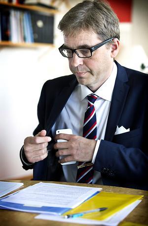 Håkan Wåhlstedt har ett förordnande på sex år. I dag har han varit landshövding i drygt fyra månader.