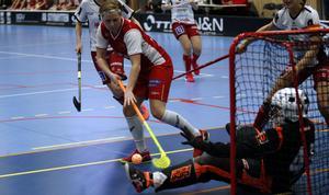 Cecilia Asplund var poängbäst i laget förra säsongen, och får en nyckelroll även nu.