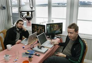 Johan Lundborg och Johan Storm vill med sin film Isolerad testa en ny berättarteknik och hitta ett sätt att gestalta huvudkaraktärens känslor utan att verbalisera dem.