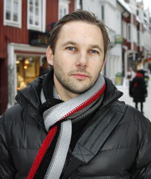 Tomas Johansson leder utvecklingen av handeln i Norrtälje.
