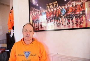 För klubbchef Robban Lindgren finns det bara en väg för Bollnäs GIF – även utan en världslirare som Daniel Berlin.