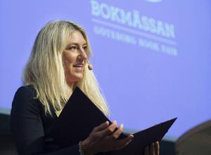 Maria Källsson inviger Bokmässan i Göteborg i september i år. ARKIVBILD