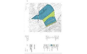 Skiss över det planerade nya industriområdet på Ingarvet. Karta: Falu kommun
