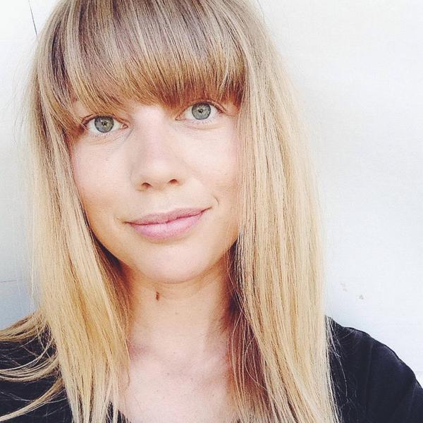 Cecilia Edström, hockeybloggare på SVT.