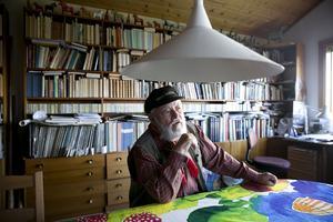 Sid Jansson återberättar gärna de berättelser om livet runt Siljan och Falun som han haft med sig sedan barnaåren