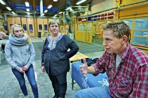 Internationella utbyten ger bra kontakter och ny kunskap. Det är Lina Lingvall, Gunilla Bohlin och Björn Wilhelmsson överens om.