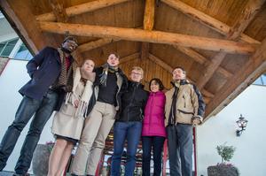 Här är några av de internationella (alla utom en) studenterna som söker jobb: Jacques Monfaite, Romy vander Straeten, Per Emilsson, Marcence Menthon, Jane Dias och Gergelt Kodolanti.