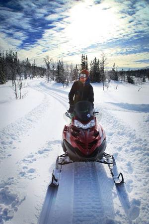 Ola Bergqvist är vd för Edsåsdalen turism och ser möjligheten att marknadsföra längdåkningen  i södra Årefjällen globalt.