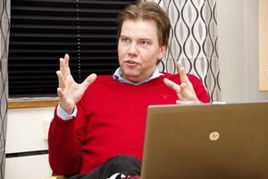Christian Ehn, ordförande i Hällåsen Arena AB.