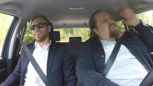 Pierre Engblom och Morgan Persson.