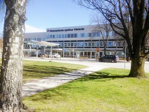 Västmanlands sjukhus i Västerås.