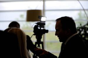 Statsminister Stefan Löfven (S) odlade undergångsfantasier i valrörelsen 2014.