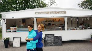 Farmor Sonja har gett namn åt Madelejn Perjos nystartade kafé vid Gavleån.