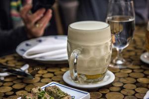 Mjölk-öl: Det rika skummet förstärker aromen på ett härligt sätt.