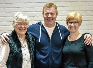 Margareta Jernberg Olsson, Patrick Larsson och Christine Nyman besökte RPG Avesta den 25 januari.