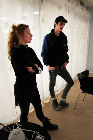 Nu på Galaxen: Frida Hulthén & Ramzi Johansson.