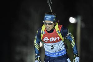 Elisabeth Högberg åkte in som nia i kvällens VC-distans i Östersund.
