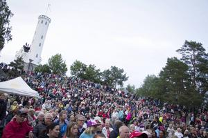 Arrangörerna uppskattar publiksiffran till ca 3000 personer.