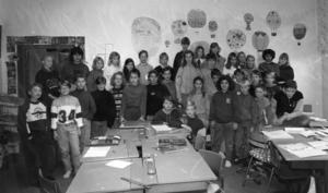 Hela klassen 1991.