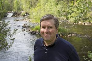 Det är något visst med att flugfiska, tycker Magnus Åsentorp.