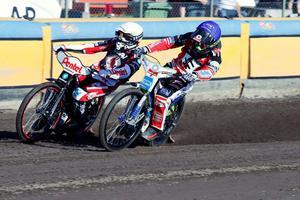 Piotr Protasiewicz blandade och gav: Veteranen tog två heatsegrar och två nollor på fyra heat.