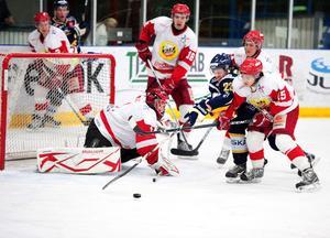Borlänge, Falu IF och Hedemora nådde målet - spel i Allettan. Hockeypubliken i Dalarna kan därmed se fram emot sex nya derbyn efter jul.