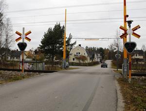 I oktober skedde det sabotage vid Solbackavägen.