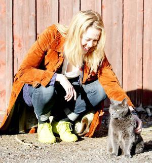 Initiativtagaren Kristin Björkebäck har alltid varit en djurvän.