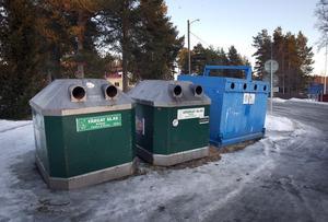 Återvinningsstationen försvinner från Norrbo.