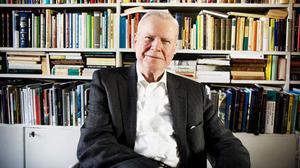 Kjell Espmark poet, romanförfattare, dramatiker, professor emeritus i litteraturhistoria, ledamot i Svenska Akademien (stol nr 16), Tranströmer-priset 2010. Foto: Kamilla Kraczkowski