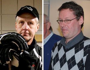 LIF-legendarerna Kjell Samuelsson och Per-Olof Carlsson fångade upp Ulf Skoglund när han mådde som sämst.