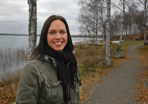 ÄVENTYRLIG. Mia Lindblom driver ett äventyrsföretag på fritiden. Nu är hon ny folkhälsosamordnare i Ockelbo.