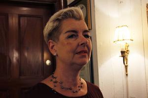 Carola Kring bjöd in till sin salong under Konstrundan.
