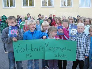Morgongåva skola F-klass. Bild: Privat.