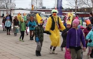 Påskparaden i Sveg har blivit en tradition