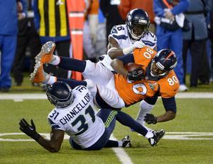 Seattle Seahawks vann Super Bowl förra året mot Denver Broncos.