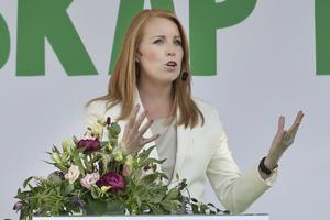 Annie Lööf (C) gillar inte LAS, lagen om anställningsskydd.