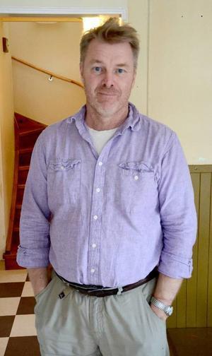 Jörgen Andersson, vd för Åre lokalkapital, tror hårt på idén, som bygger på att privatpersoner sparar pengar i lokala företag.