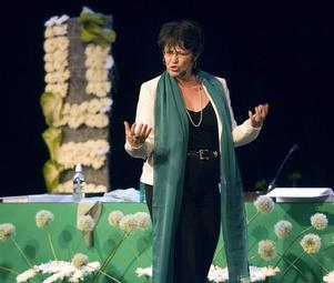 Solveig Ternström inledningstalar på Centerpartiets stämma 2005.