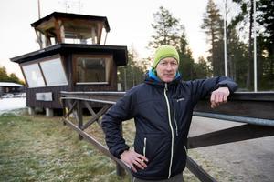 Pessi Liukkonen är ny spårgeneral för de kommunala skidspåren i Sundsvall.