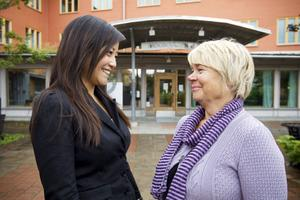 Cecilia To flyttade sitt kontor till Sandbacka park för att få tillgång till de resurser och det stöd som företagare kan få där. Irene Bogren, projektledare på Creative Office som bland annat jobbar med utvecklingsfrågor, har funnits som stöd åt Cecilia.