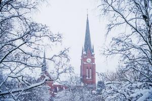 Sundsvall kommer vara en frostbiten stad de närmsta dagarna.
