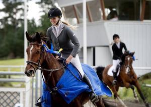 Aili Karlsson, Näset RS, och hennes familj har fött upp 12-åriga Princess Marco SH, som hon vann sitt andra DM-guld med.