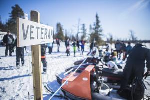 Veteranskoterdagen i Tännäs blev lyckad, i år igen.