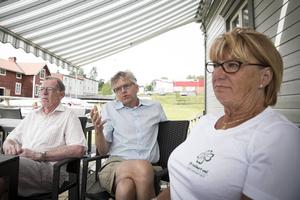 Per Åsling (C) blir ordförande i skatteutskottet. (i mitten av bilden)