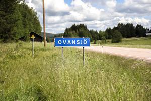 Här, i Ovansjö, växte Lars Lagerbäck upp.